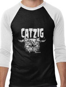 catzig Men's Baseball ¾ T-Shirt