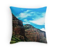 Utah Scenery........Drive By Shooting...Interstate 84 Throw Pillow