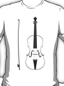 Violin Silhouette T-Shirt