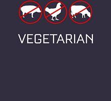 Vegetarian T Shirt Womens Fitted T-Shirt