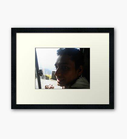 shaded Framed Print