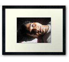 looking to you  Framed Print