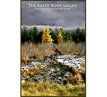 Baker River Valley Poster/Card Photographic Print