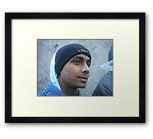 from down Framed Print