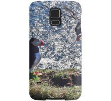 Puffin Jump1 Samsung Galaxy Case/Skin