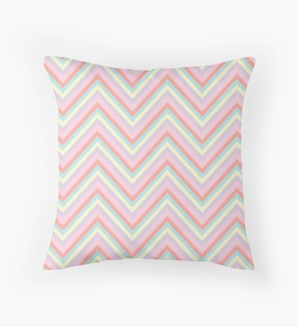Baby Doll Chevrons Throw Pillow