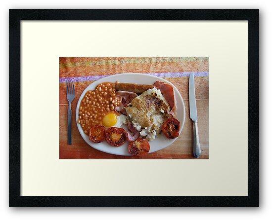 April fry-up by Alastair Humphreys