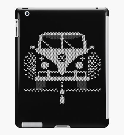 Knit Style Volks Camper Van iPad Case/Skin