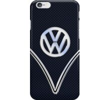 Chrome and Carbon Fiber Delight iPhone Case/Skin