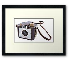 Brownie Camera Framed Print
