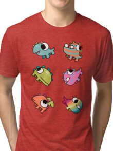 Baby Monsters - The Whole Family Tri-blend T-Shirt