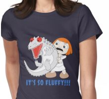 It's So Fluffy!!! Dinosaur Womens Fitted T-Shirt