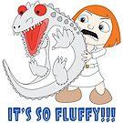 It's So Fluffy!!! Dinosaur by Kimberly1337