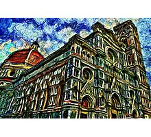Cathedral Of Florence Fine Art Print Photographic Print