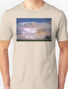 Dancing Thunderstorm Cell On The Horizon Unisex T-Shirt