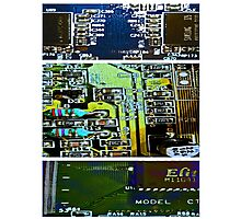 Circuit Triptych Photographic Print