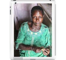 Nalongo - mother of twins iPad Case/Skin