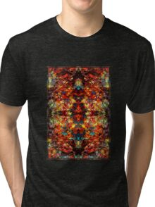 A Crazy Monkey Faced Vision at 1 am Tri-blend T-Shirt