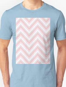 Pretty in Pink Chevrons Unisex T-Shirt