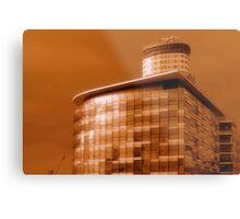 New BBC building. Metal Print