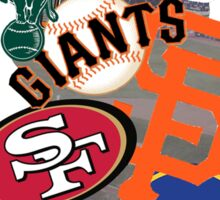 Bay Area Sports Sticker