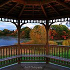 Gazebo Autumn by Rex  Montalban
