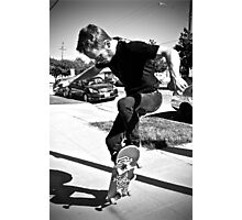 BW Ollie Photographic Print