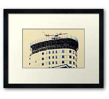 Open Windows. BBC Salford Quays. Framed Print