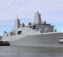 USS New York by joan warburton