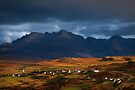 The Cuillins and Carbost, Isle of Skye, Scotland. by photosecosse /barbara jones