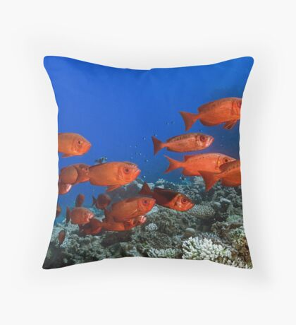 Bigeyes Throw Pillow