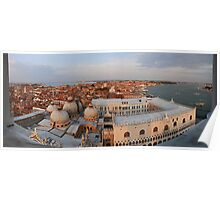 Venice panorama  East Poster