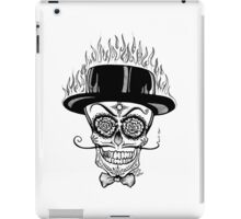 Fire Skull iPad Case/Skin
