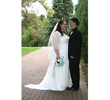 Wedded Bliss Photographic Print
