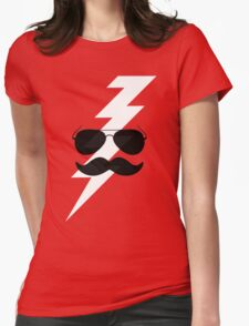 Boots Electric Womens Fitted T-Shirt