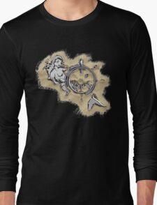 Chrome Mermaid in Sand Long Sleeve T-Shirt