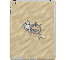 Chrome Mermaid in Sand iPad Case/Skin
