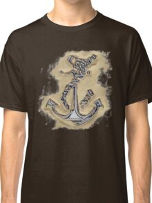 Chrome Anchor in Sand Classic T-Shirt