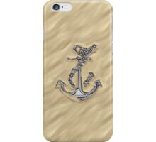 Chrome Anchor in Sand iPhone Case/Skin