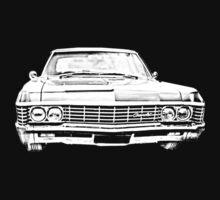 1967 Chevy Impala  by RedB