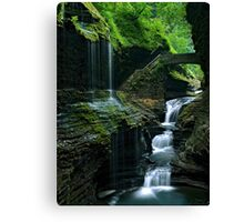 Watkins Glen Falls Canvas Print