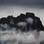 Edinburgh Castle Darkness 3 by Ross Macintyre