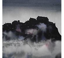Edinburgh Castle Darkness 3 Photographic Print