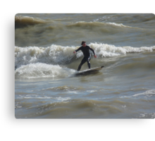 Everybody's Going Surfin' Canvas Print
