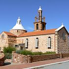 Catholic Church in Mullewa, Western Australia by Graeme  Hyde