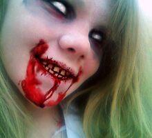 Lauren Of The Living Dead II by ADzArt