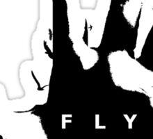 Fly. Sticker