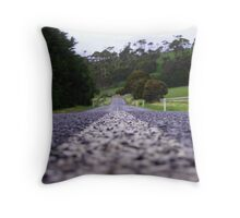 Coast Road - Penguin, Tasmania Throw Pillow