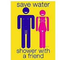 save water... ( 2952 views ) Photographic Print