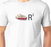 Pie R Squared Math Humor Unisex T-Shirt
